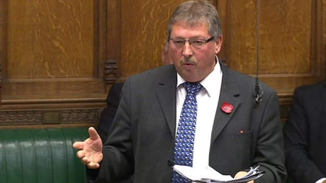 DUP MP Sammy Wilson