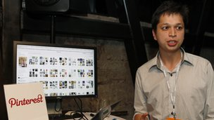 Pinterest co-founder Ben Silbermann at an event in 2012