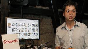 Pinterest co-founder Ben Silbermann at an event in 2012