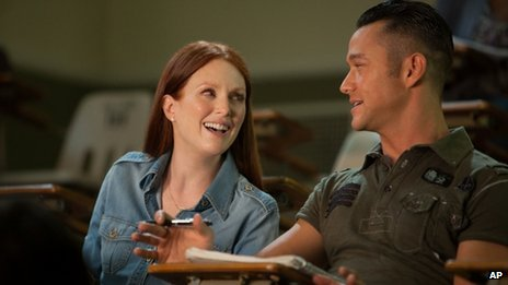 Julianne Moore and Joseph Gordon-Levitt