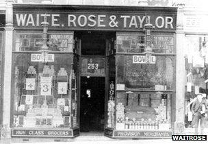First Waitrose shop, Acton Hill