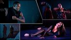 Theo 'Godson' Olayade, Kofi 'Klik' Mingo and Michele 'Paleta' Rhyner