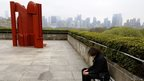 Blazon by Sir Anthony  on the Metropolitan Museum of Art's Roof Garden in 2011