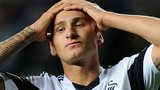 Jonjo Shelvey holds his head in frustration during Swansea City's draw with Kuban Krasnodar