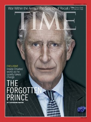 Prince of Wales on Time magazine cover