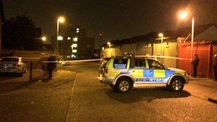 Police at scene of alert in north Belfast