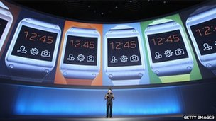 Samsung smartwatch being launched