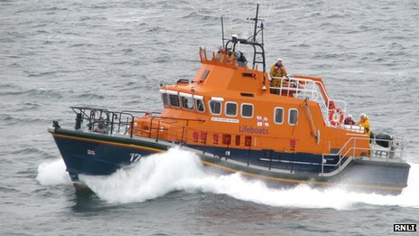 Search launched for ferry passenger...