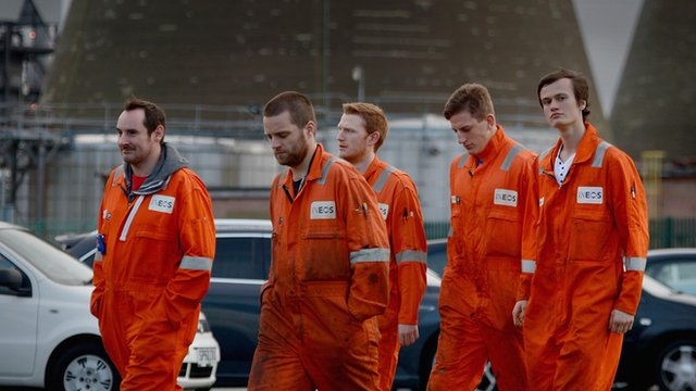 Workers from Grangemouth chemical plant