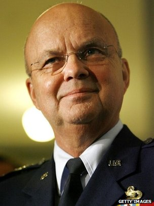 Former NSA head and CIA director Michael Hayden in earlier years