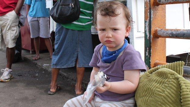 Madeleine's daughter Scarlett
