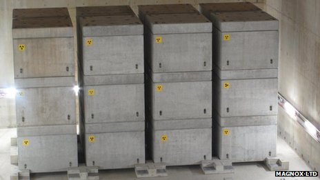 Concrete boxes inside the ILW store