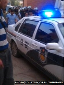 Police in Yunnan province