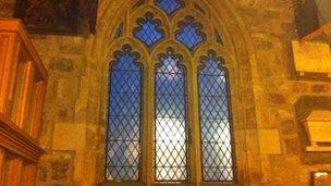 Window at All Saints Church, York