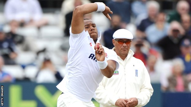 Essex left-arm seamer Tymal Mills