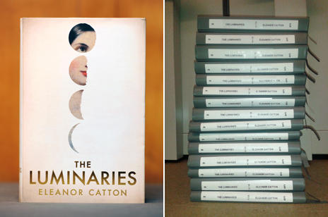 The Luminaries - in hardback and in Braille