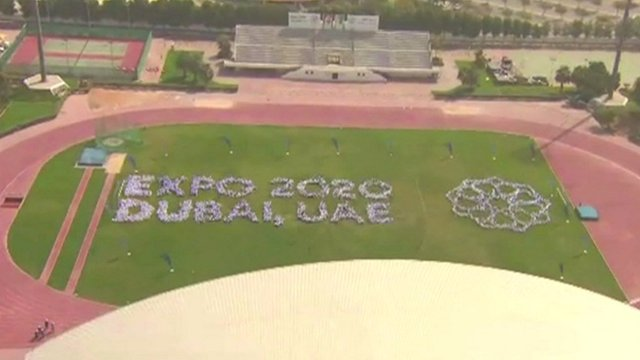 Expo 2020 on grass