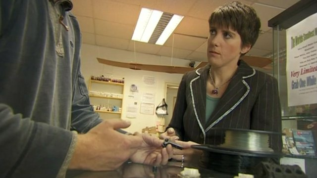 "BBC North of England correspondent Judith Moritz talks to the man who was held over the seizure of suspected ""homemade"" gun components"