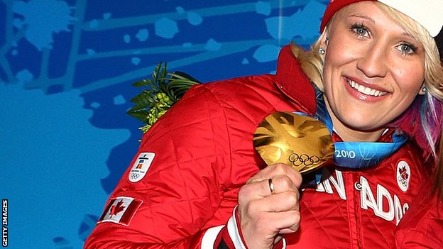 Olympic bobsleigh champion Kaillie Humphries