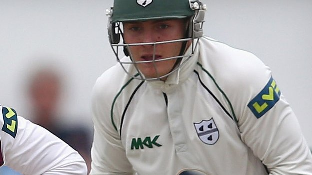 Worcestershire wicketkeeper