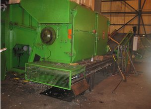 Shredder at Neath Port Talbot Recycling Ltd