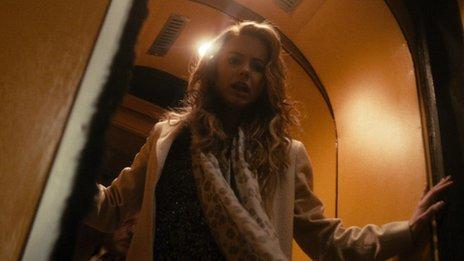 Kara Tointon in Last Passenger