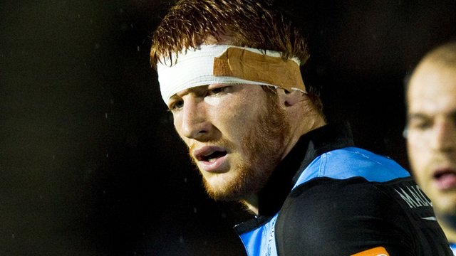 Glasgow Warriors flanker Rob Harley