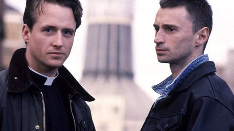 Priest, starring Linus Roache and Robert Carlyle