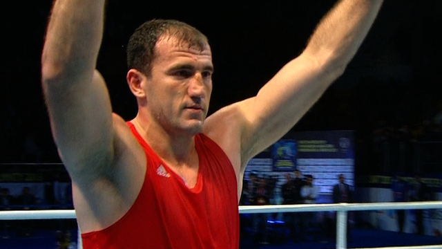 Azerbaijani super heavyweight Magomedrasul Medzhidov