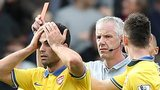 Arsenal's Mikel Arteta is sent-off at Crystal Palace