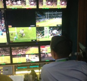 The video referee