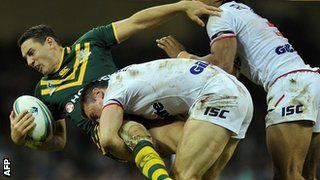 England tackle Billy Slater
