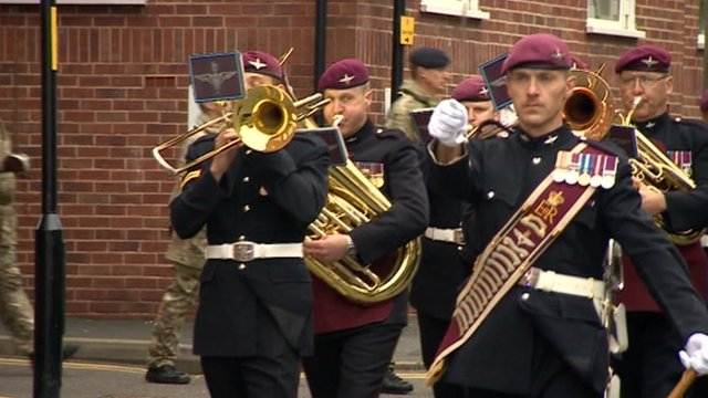 168 Pioneer Regiment in Grantham