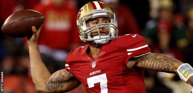 Colin Kaepernick, San Francisco 49ers quarterback