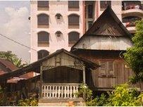 Kampung Baru a village enclave in Kuala Lumpur