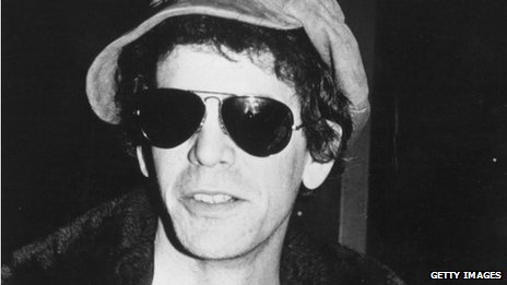 Singer-songwriter Lou Reed, circa 1976