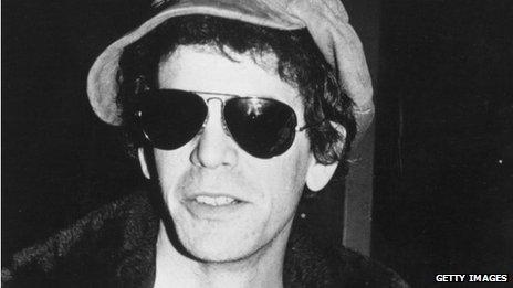 Singer-songwriter Lou Reed, circa 1976