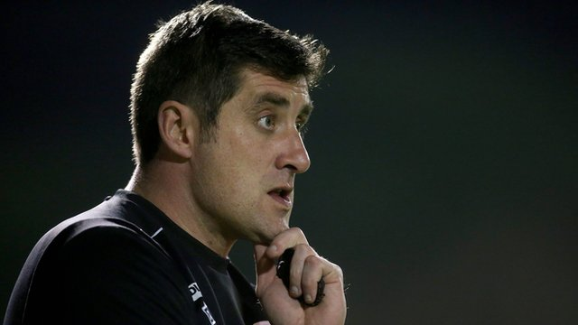 Declan Devine was appointed to the Derry job in January 2012