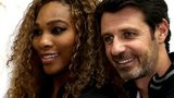 Serena Williams and Patrick Mouratoglou