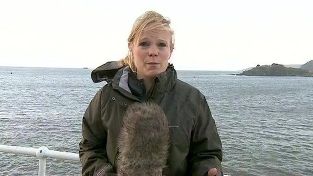 BBC reporter Louise Walter reports from Plymouth