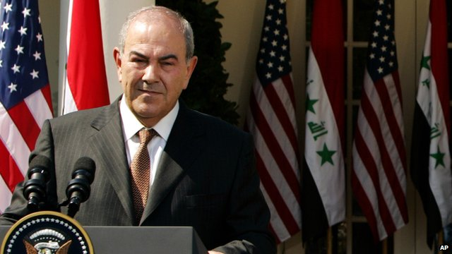 Iraq's former Prime Minister Iyad Allawi
