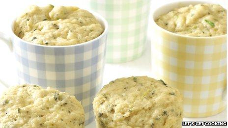 Muffins in a mug