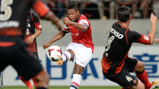 Arsenal forward Serge Gnabry