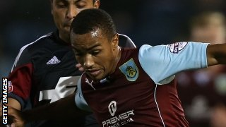 Burnley winger Junior Stanislas