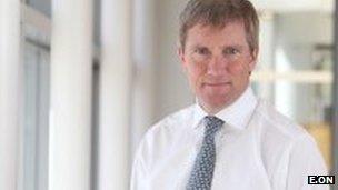 Tony Cocker is the chief executive of E.ON UK
