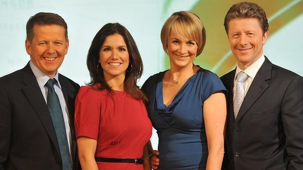 The BBC Breakfast team.