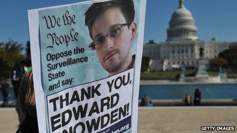 Poster of Edward Snowden