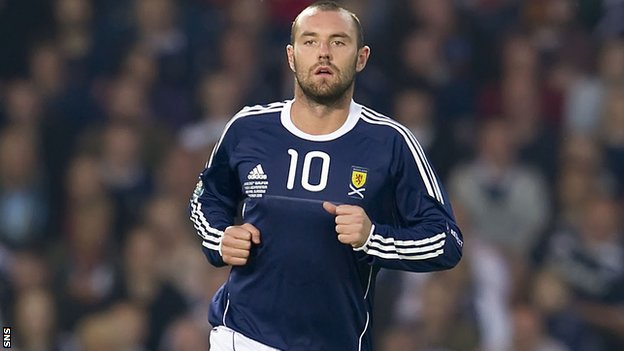Striker Kris Boyd