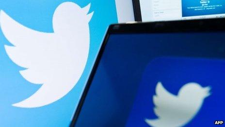 Twitter logos (file)