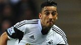 Swansea left-back Neil Taylor